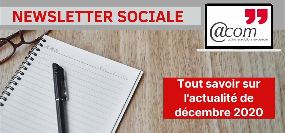 Actualités Sociales – Décembre 2020