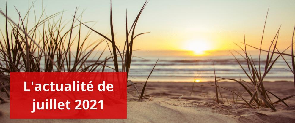 L'actualité sociale – Juillet 2021