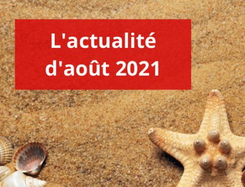 L'actualité sociale – Août 2021